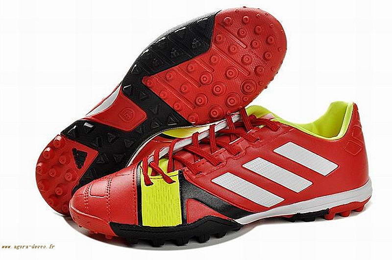 pretty nice cf80f 7aa75 Adidas Chaussures Homme Rouge Nitrocharge 2.0 TRX TF EUKS- nsux