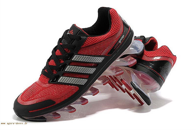 super popular 3619a cafa8 Adidas Homme Blanche Chaussure Rouge Bounce Titan VII TH SOGS- 2Y8cQCH