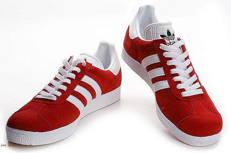 Gazelle Blanche 2 Rouge Chaussure Homme Os Yhm Originals Adidas wxBpfAqX