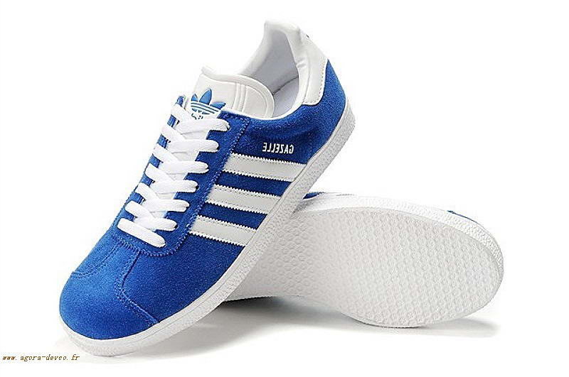 Adidas Homme Chaussure Bleu Blanche Originals Gazelle 2 WSG-S Sy70tad1g 1b6b69067aee