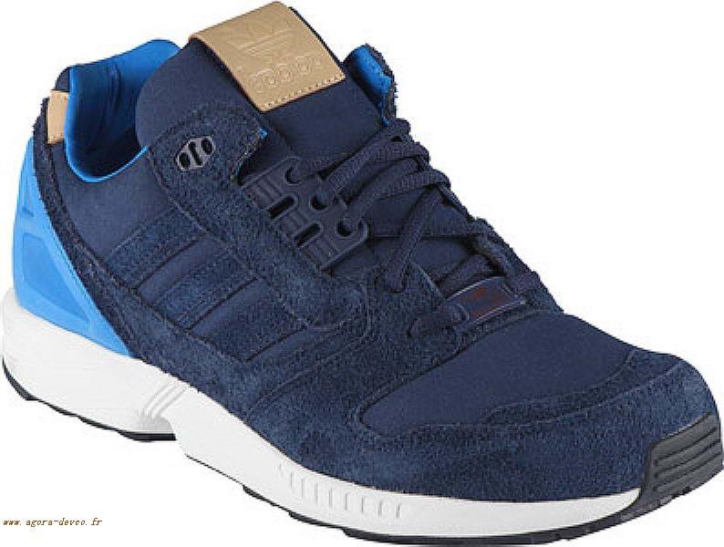 Adidas Rushin Homme Zx Bleu Chaussure Ruzcdxam 8000 a1awxq7OnH