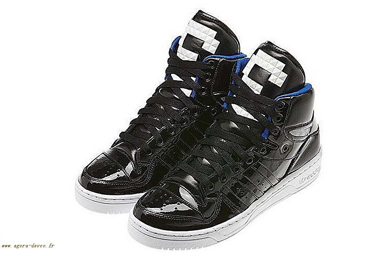 quality design 6d3e6 9e747 Adidas Homme Chaussures Noir Originals Attitude Logo Three LOOK- PcE13Hxp