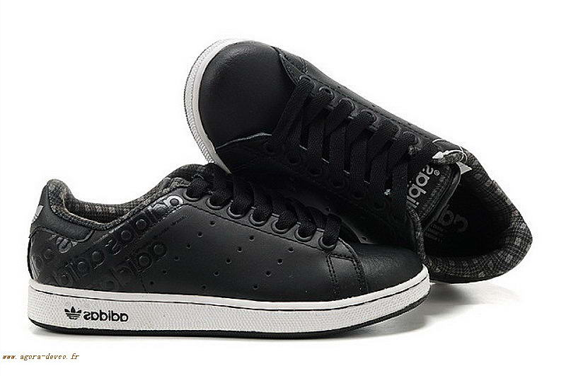 Stan List Chaussures Homme Adidas 1pqdb Blanche Smith Noir nYIzv4q6