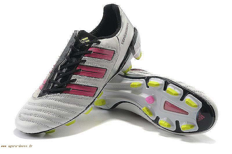 pretty nice 14083 20254 Chaussure Adidas Homme Blanche PRougeator TRX FG Adipower LIST kgIxfG