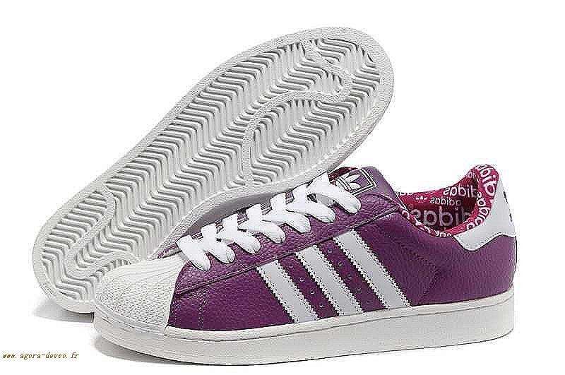 san francisco c5623 03793 Chaussure Pourpre Adidas Homme Blanche Superstar 2 O-S M 5UfS2