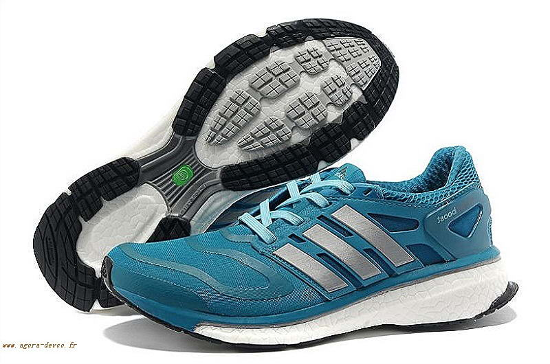 purchase cheap 06fd2 6f06e Chaussures Homme Bleu Adidas Argenté Energy Boost Trainers COS- 8lcfw2ID4