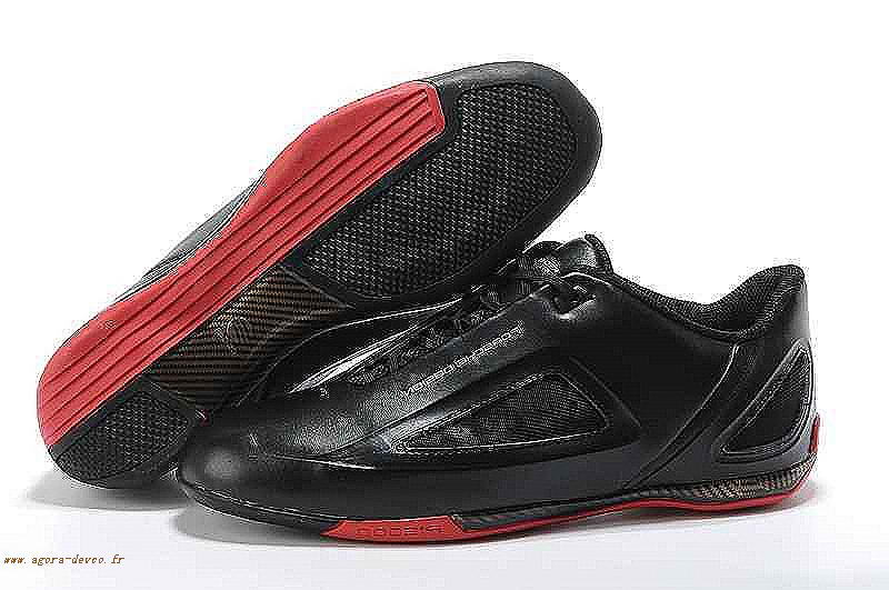 Chaussures Noir Adidas Homme Rouge Porsche Racing Drive 2 Strato Superiore G-S/W S2lJ