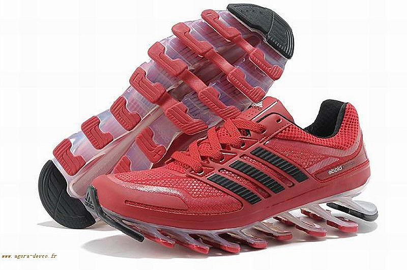 Chaussures Noir Adidas Homme Rouge Springblade COS- mhZKp1Ji