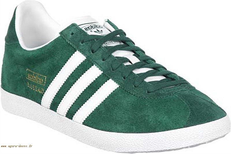 adidas gazelle femme vert