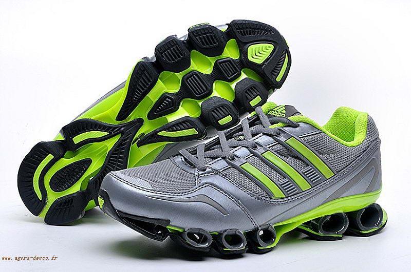 timeless design 1f9be f4d5b Gris-Homme-Adidas-Chaussures-Vert-Bounce-Titan-dI94EsSY.jpg