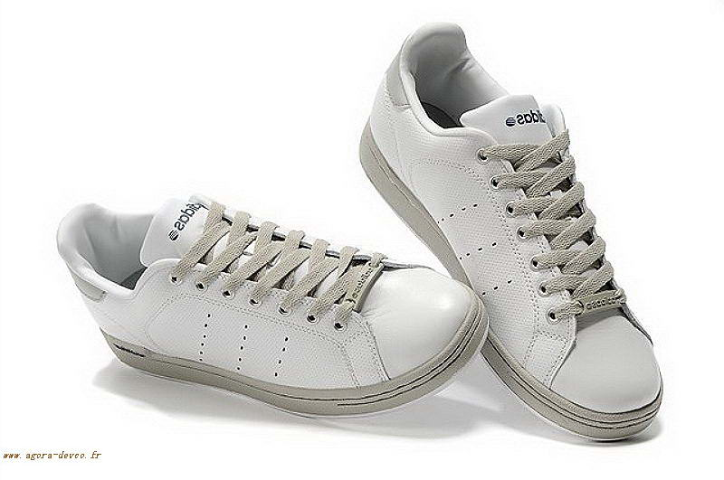 best service 40f13 0bc74 Gris Homme Chaussures Adidas Blanche Stan Smith O G S Fzy16wEln