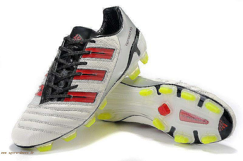 the latest c45a9 04cef Homme Adidas Blanche Rouge Chaussures Noir PRougeator TRX FG Adipower O-S M  T5r1zMRxQ
