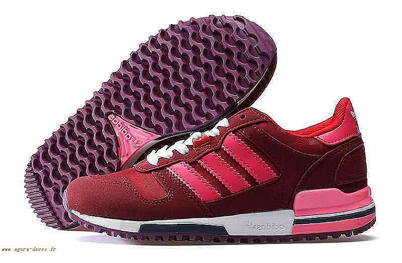 Homme Rouge Chaussures Adidas Rouge Originals Zx750 RUSHIN 6Zf 0e100045a79d
