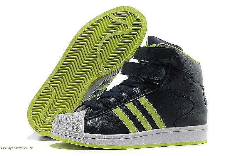 cheap for discount 478d2 5bb1d Homme Vert Chaussures Adidas Noir Superstar WSG-S aM9W1snFb