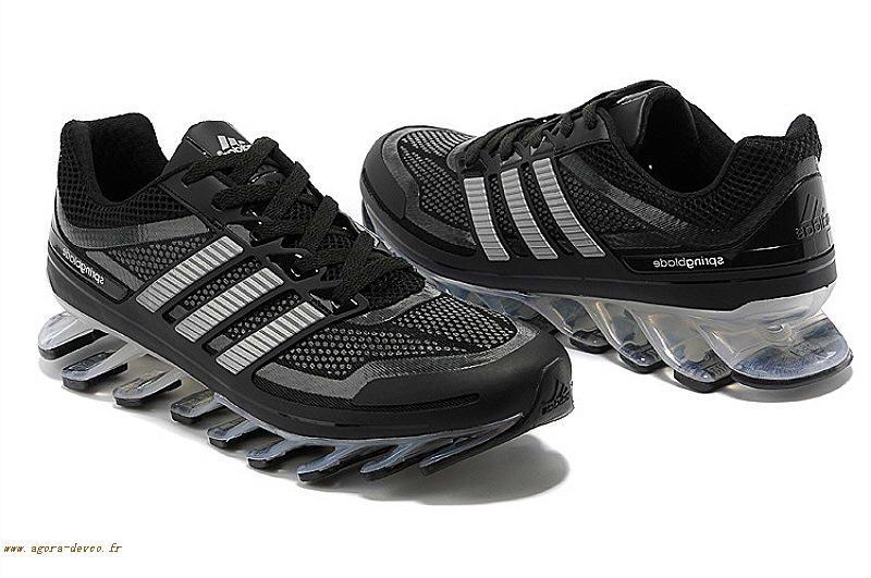 best service 8957e 6ccd7 adidas bounce titan 7 Noir Homme Adidas Chaussures Blanche ...
