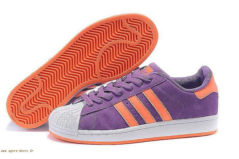 adidas superstar hommes orange