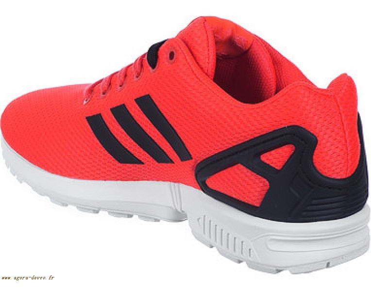 adidas zx flux toute rouge