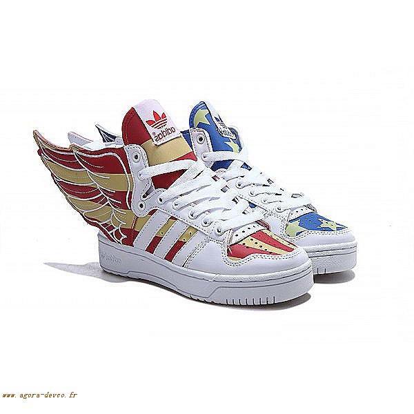 Adidas Cos Scott Jeremy 0 Homme Chaussures Bleu Originals Rouge 2 EqFTPU