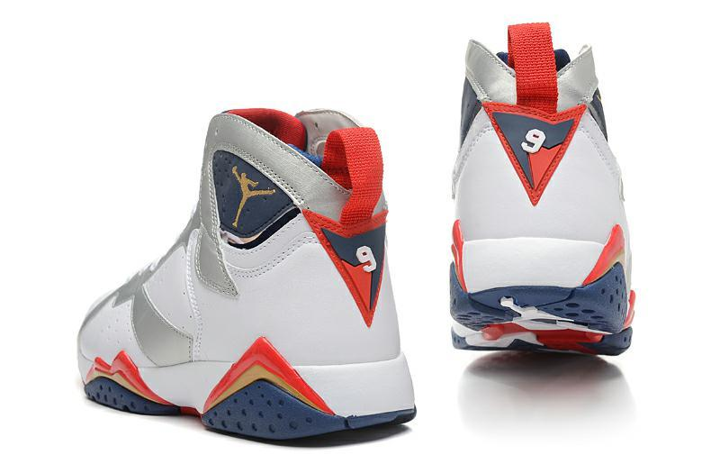 reputable site 865d5 389a7 ... coupon code for nouvelle air jordan 7homme air jodan 7 blanche et  argenté w 4eb a883f