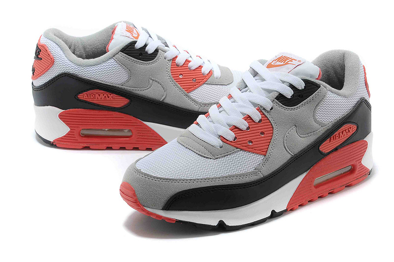reputable site 77ae8 b7537 ... discount code for air max 90 essential femmenike air max 90 blanche et  gris et rouge