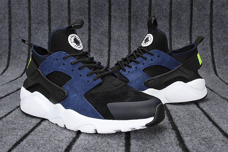 sports shoes 06122 350d0 nike huarache sneakers,femme air huarache noir et bleu pas c