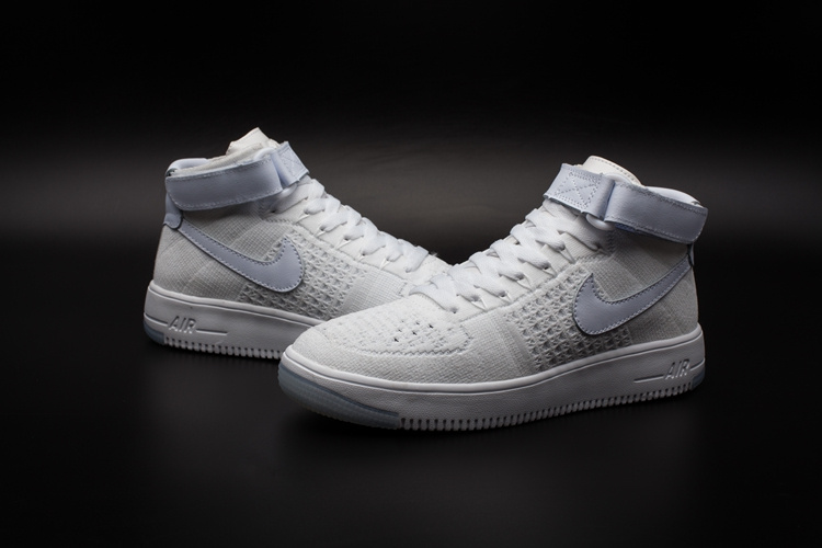 Blanche Flyknit Nike Basket Air sqaegs One Lua Force 1 air Yw0wZq