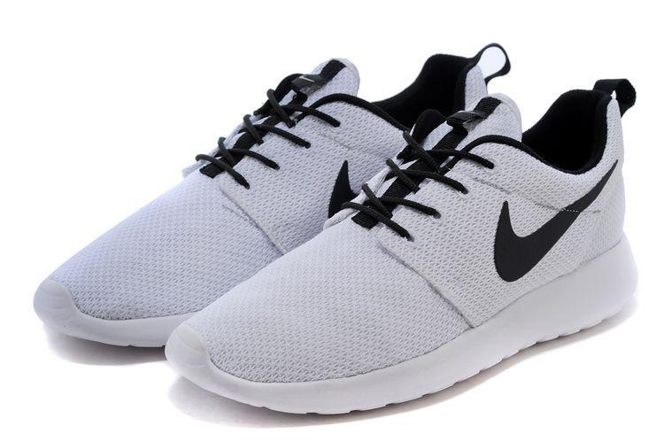 cheap for discount bbbb9 a2699 nike chaussure roshe run,vendre roshe run one femme blanc et noir i(Dk