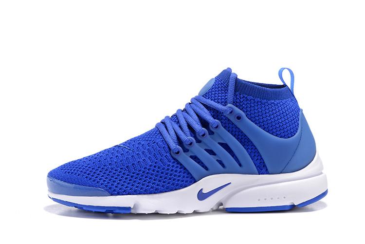 designer fashion 013f9 88076 chaussure basse femme nike,air presto flyknit bleu et blanche femme  WlQE+AEDAv