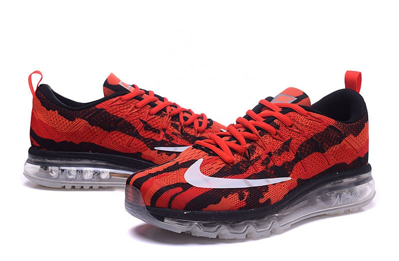 air max rouge flyknit