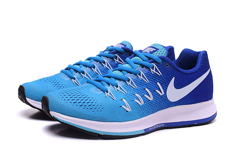 separation shoes 5d1da b9f43 chaussure sport homme nike,air zoom pegasus 33 bleu et blanche homme 4XSe