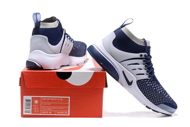 nike Air Et De Homme Nike Blanche Fly Presto Bleu Chaussures Vente RxwFOWqptp