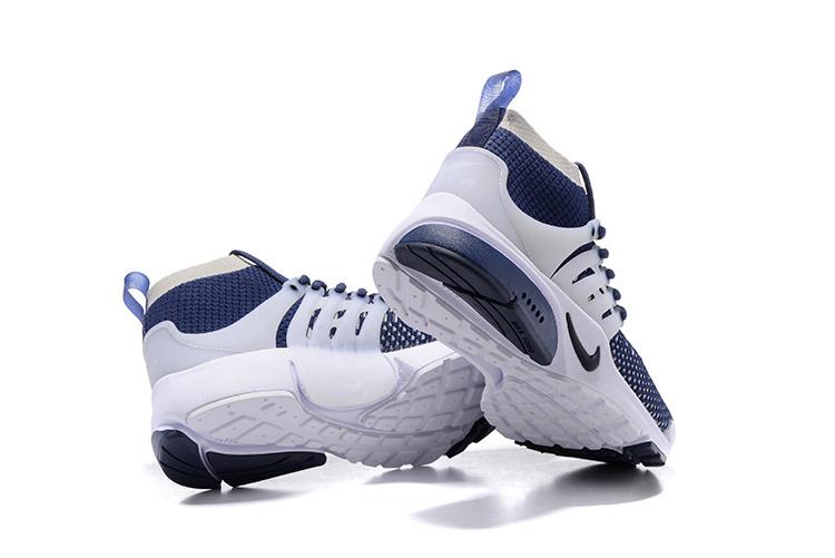 Vente Air Chaussures Homme Presto Et Fly Nike Bleu Blanche De Ud0dq