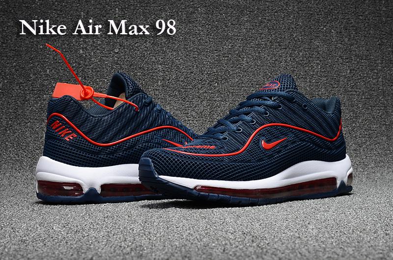 air max 98 bleu et rouge