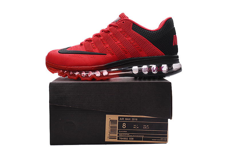 chaussure nike air max homme,homme air max 2016 ultra rouge et noir iw P4L