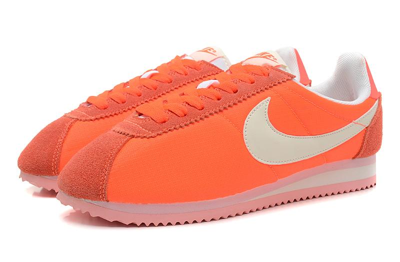 new products a5ac2 9e816 nike cortez 2017 nylon,femme nike classic cortez orange NWUwFo -1