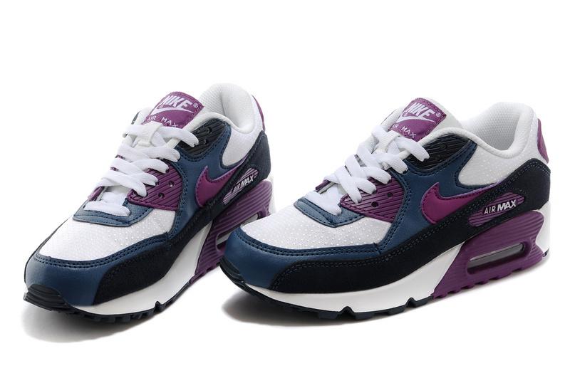 air max noir et violet