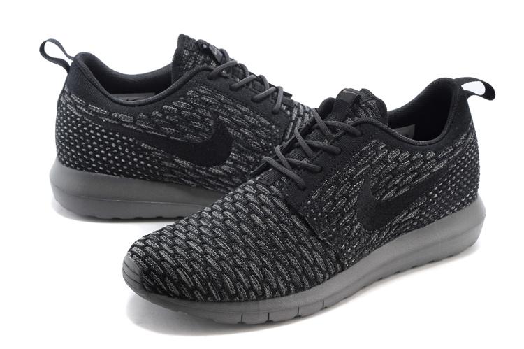 vendre Run Flyknit Run Roshe Noir Nike Femme Chaussure qwxPaP