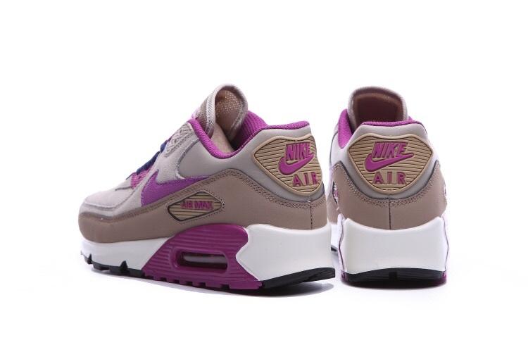 newest 986af d32b8 air max nike pas cher pour femme,nike air max 90 beige et violet j9Ys f4k