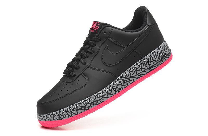 Noir Femme Chassure Air Force Rose nike Nike 1 Et Ob9na Vh ARj5q3L4