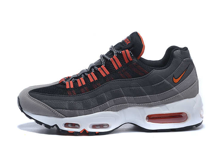 brand new 4b7a2 c123b air 95 pas cher,air max 95 noir et gris et orange homme solde F+Bb