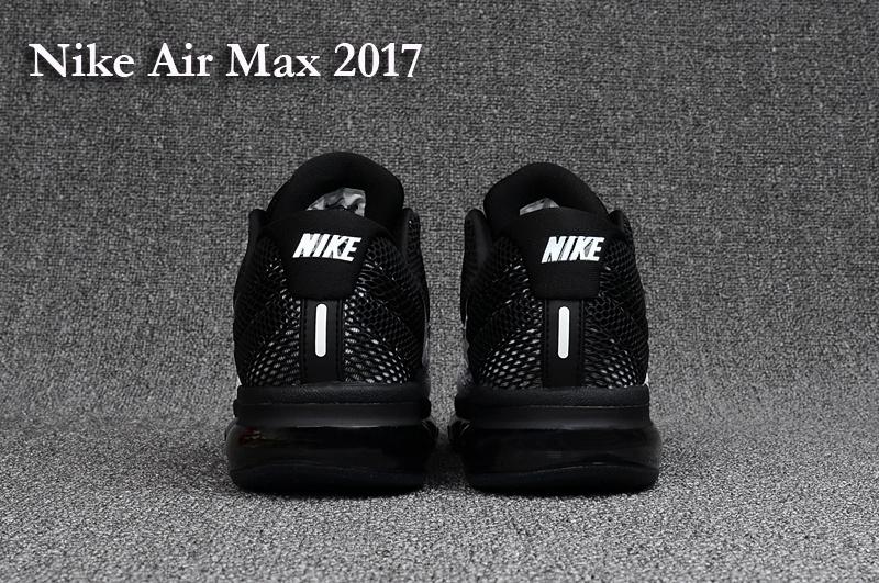 air max 2017 blanche noir