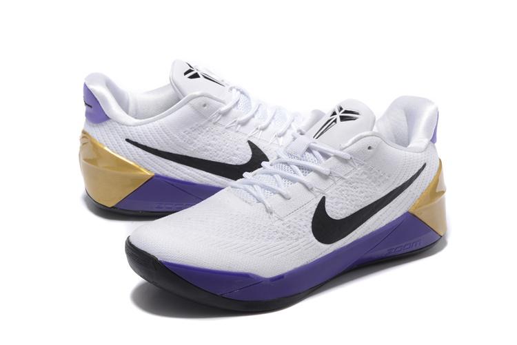 kobe bryant chaussure,basket nike kobe ad blanche et violet U71Biqb1]X