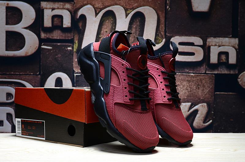 newest collection 8abcb 69752 nike huarache low,homme air huarache rouge et noir pas cher zIK+TmInrWq
