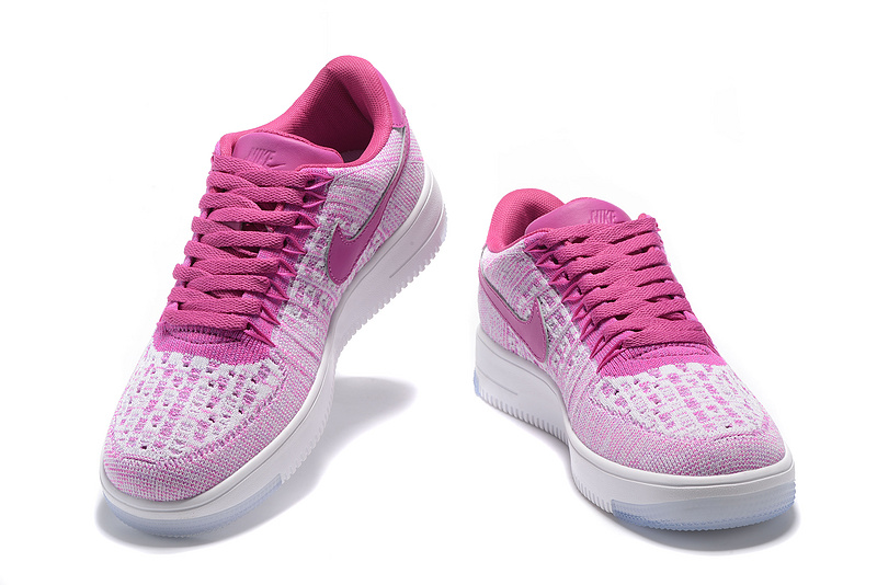 sale retailer 1fc1d f3aac basket de ville femme nike,air force 1 flyknit rose ICFL
