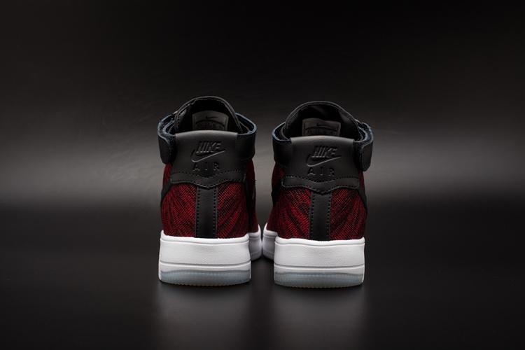 Noir Rouge Force 1 Ville Nike Flyknit Chaussure cxf air D Femme Et wqznR6I0