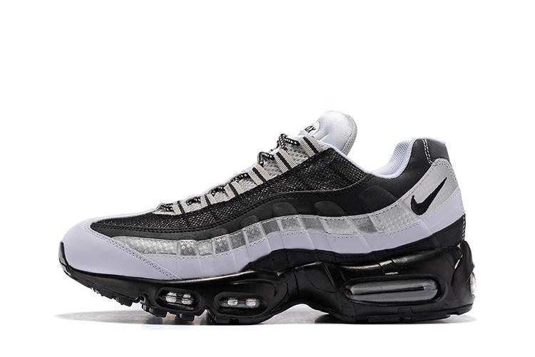 new concept 0f528 10c5c nike homme air max,air max 95 noir et blanche et argenté homme solde *M56
