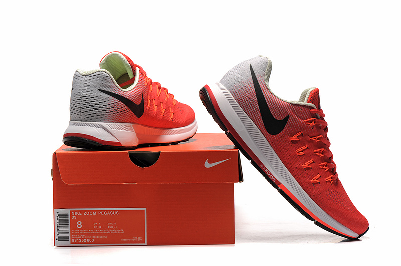 big sale b2f0f 6f6a1 chaussure sport homme nike,air zoom pegasus 33 rouge et blanche homme  NwAuH f