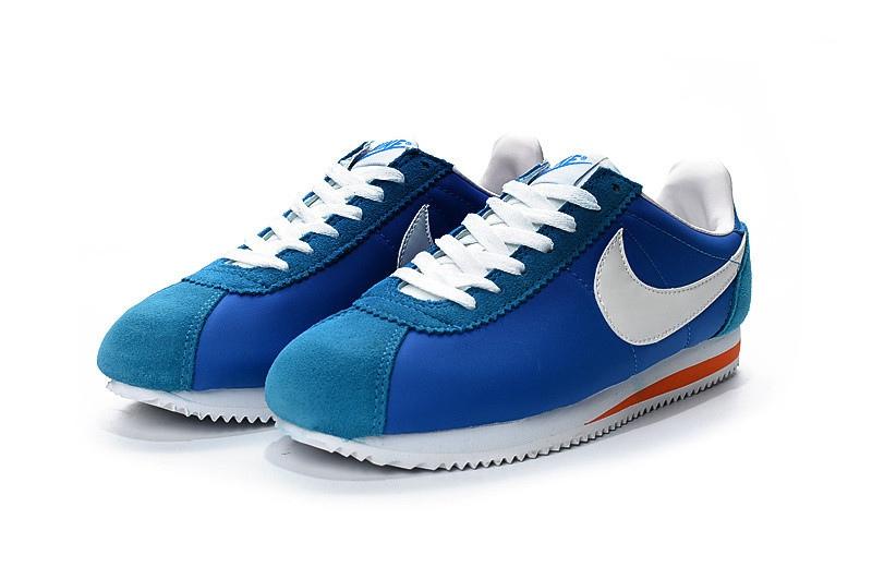 nouveau produit 3d528 bfd01 shop nike cortez nylon hommes dark bleu orange 13462 dbc8a