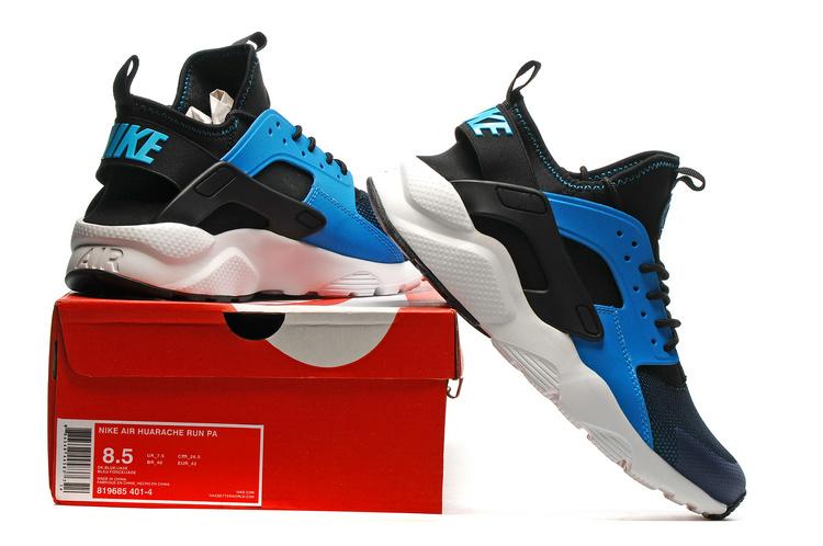 83e28c0d3bbc9 chaussure nike huarache,femme air huarache noir et bleu pas cher i 61jQ