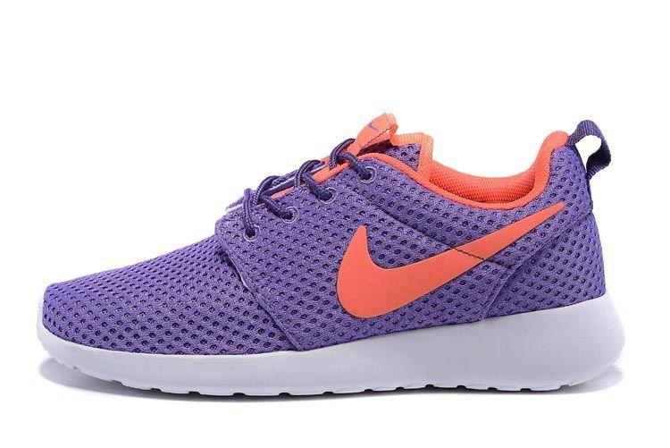 shopping femmes nike roshe run or violet 24590 87f17